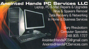 Anointed Hands PC Care